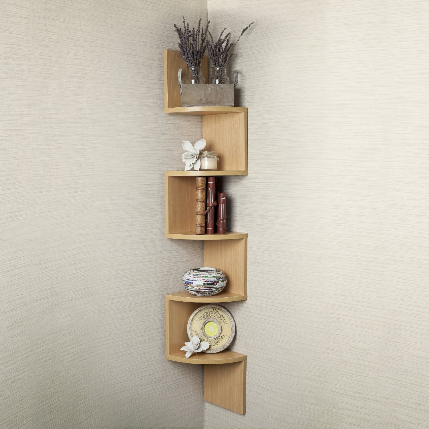 Large Corner Wall Mount Shelf Home Decor